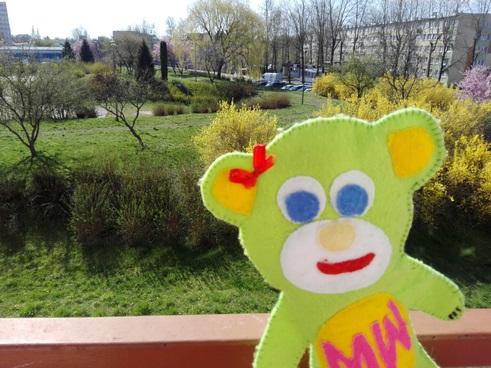 Misia Wędrownisia i wiosenny spacer po Koszalinie