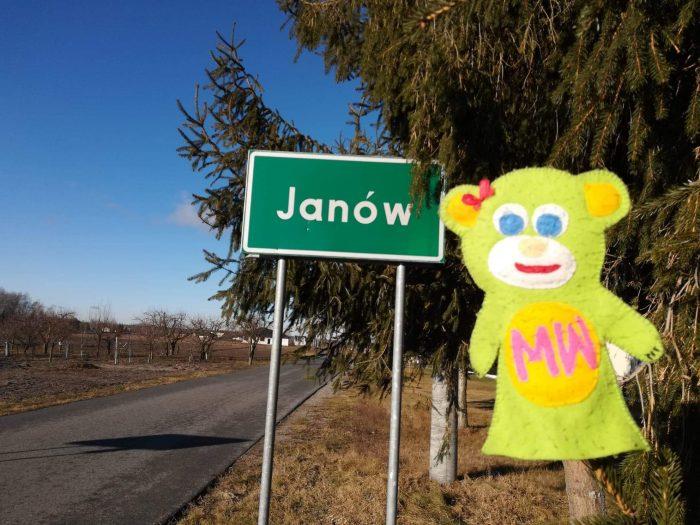 Misia Wędrownisia z wizytą w Janowie